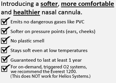 Introducing a softer, more comfortable and healthier nasal cannula.